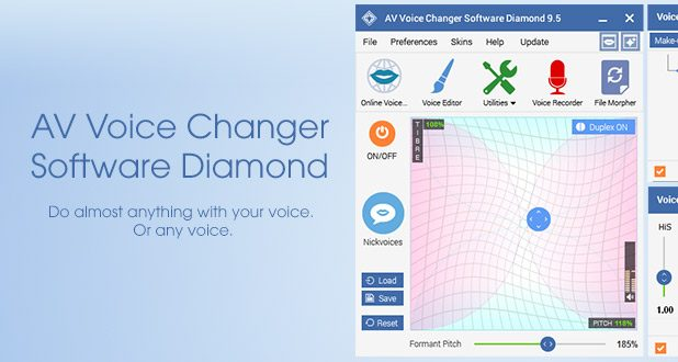 AV Voice Changer Software Diamond 9.5.34 Crack + Activation Code Free