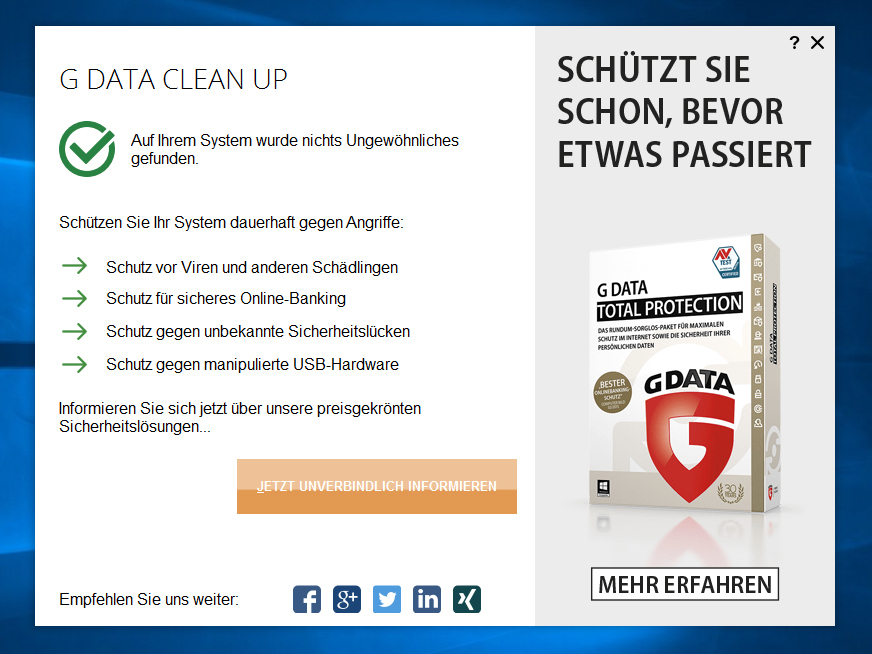 G DATA Clean Up 1.0.16091.689 Crack + License Key 2021 Free
