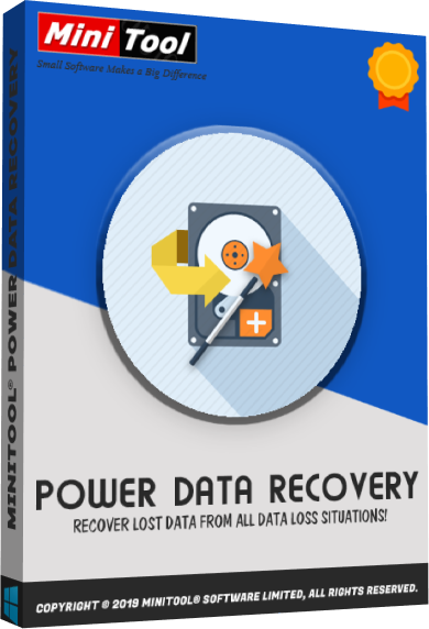 MiniTool Power Data Recovery 9.2 Crack + Keygen 2021 Free Download