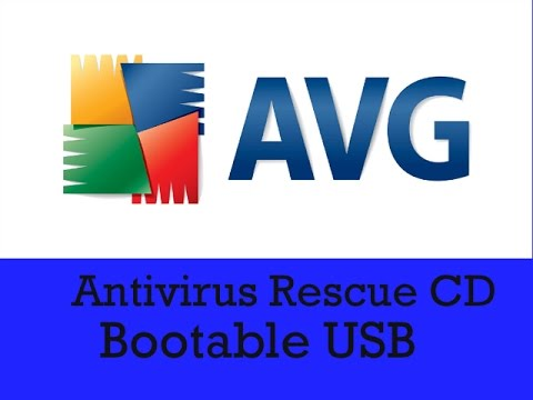 AVG Rescue USB 120.160420 Crack with License key
