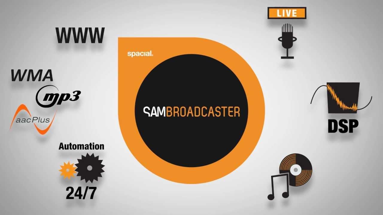 SAM Broadcaster Pro 2021.4 Crack +Registration Key Free Download