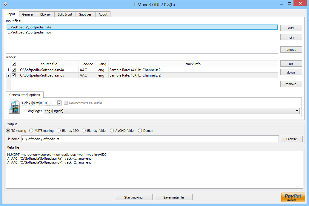 tsMuxer 2.7.12 Crack +Keygen Free Download 2021 Latest