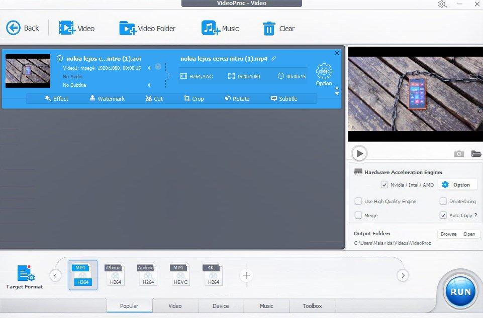 VideoProc 4.2 Crack + Registration Code 2021 Free Download