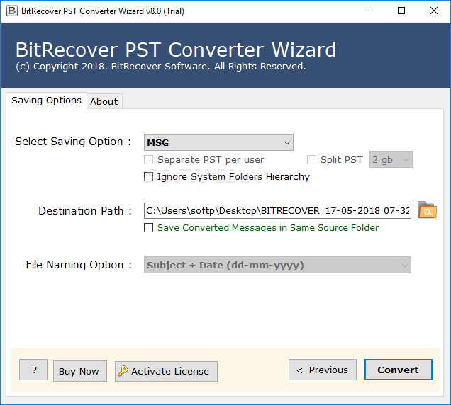 BitRecover PST Converter Wizard 12.3 Crack With Activation Key Free