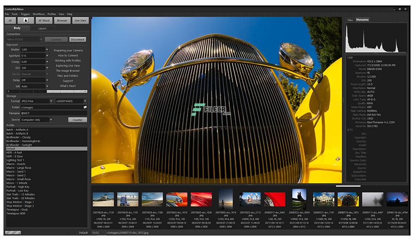 ControlMyNikon Pro 5.5.78.90 Crack With License Key 2021 Free